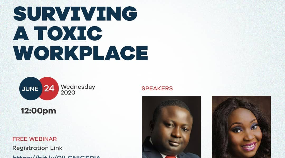 SURVIVING A TOXIC WORKPLACE
